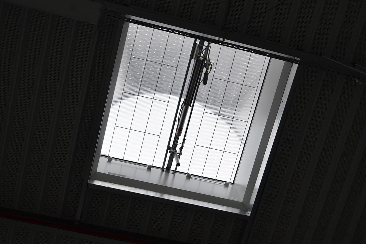 Bâtiment Guy Cotten et lanterneau intérieur une actualité Adexsi FLJ