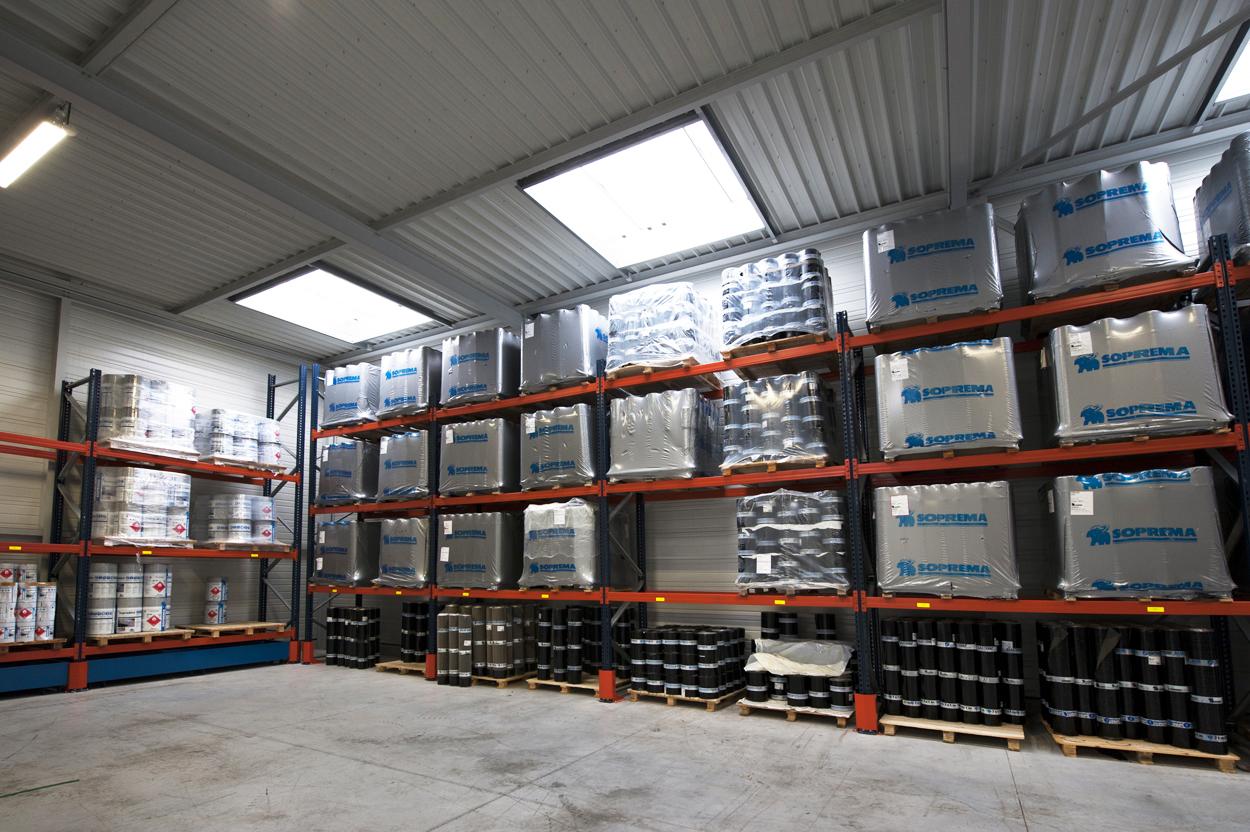 Facteur Lumière du Jour (FLJ) bâtiment Soprema Montpellier pour référence Adexsi produits Bluetek