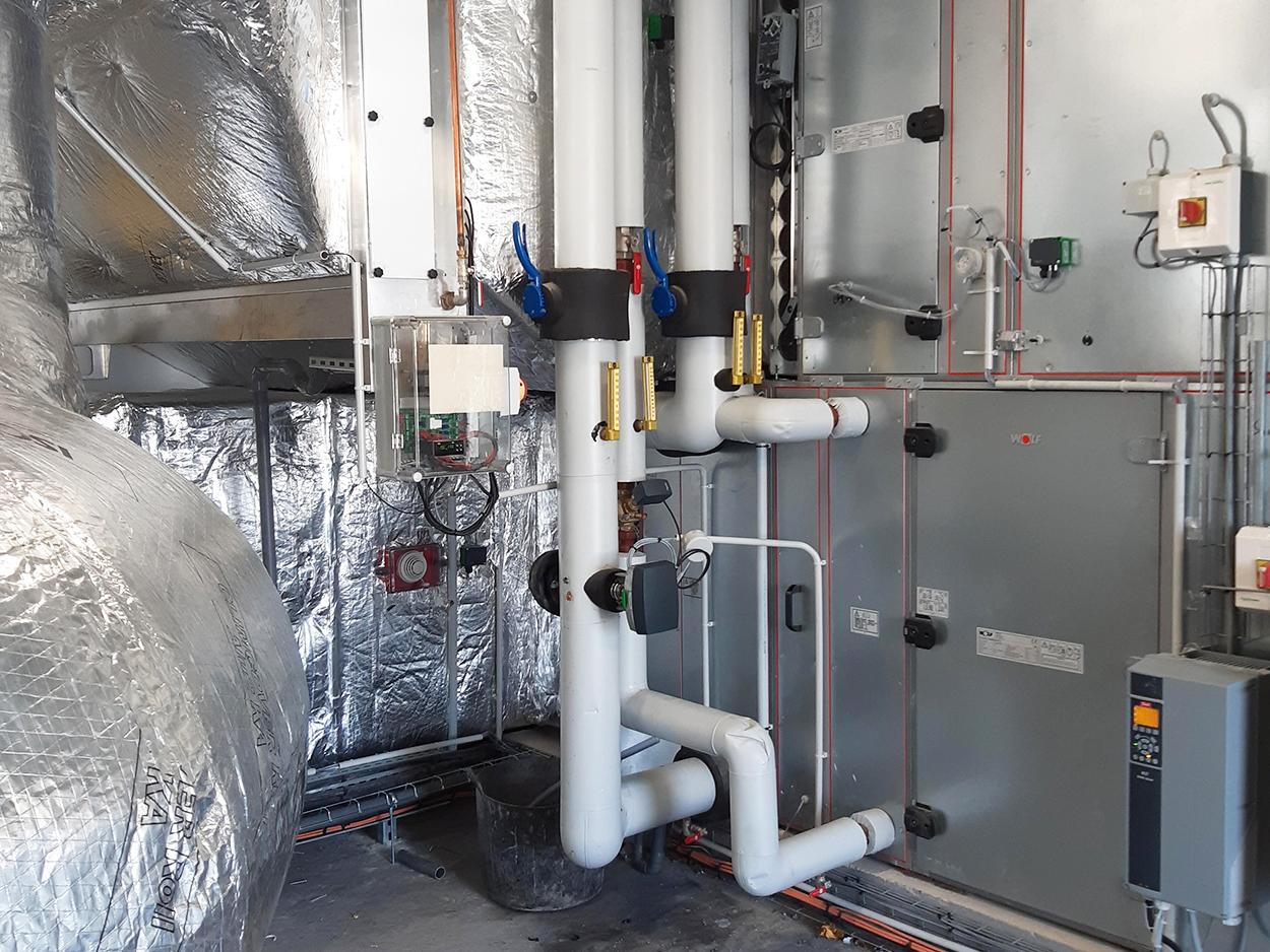 Actualité Bluetek : installation adiabatique GRDF