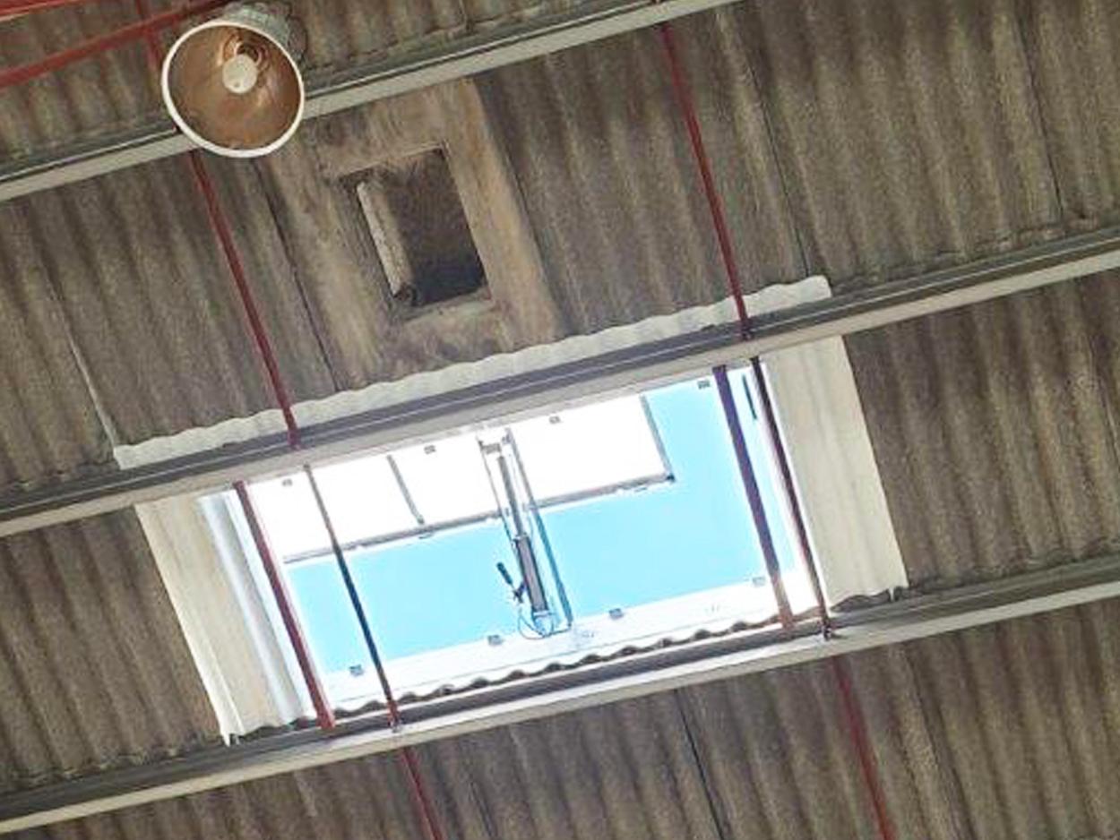 Lanterneaux Bluebac Pneu Reno chantier Smurfit