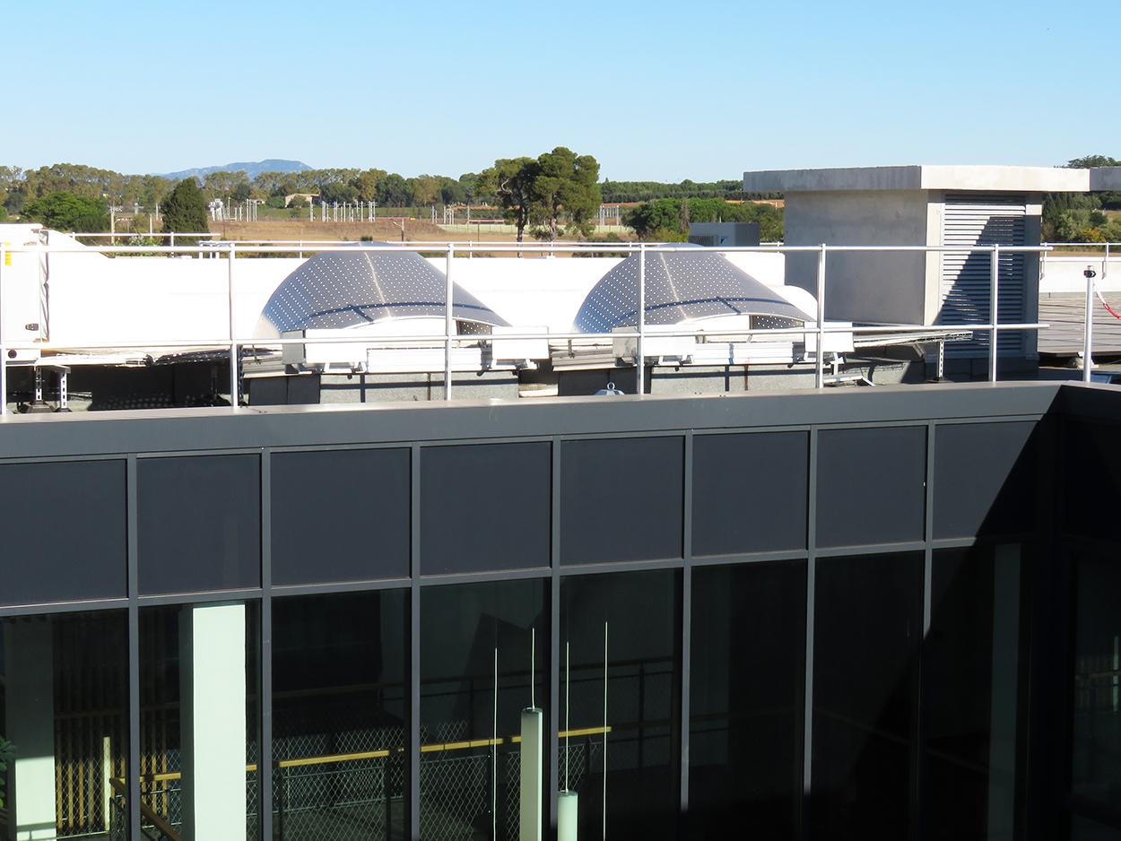 Lanterneaux Bluetek toiture Septeo Montpellier