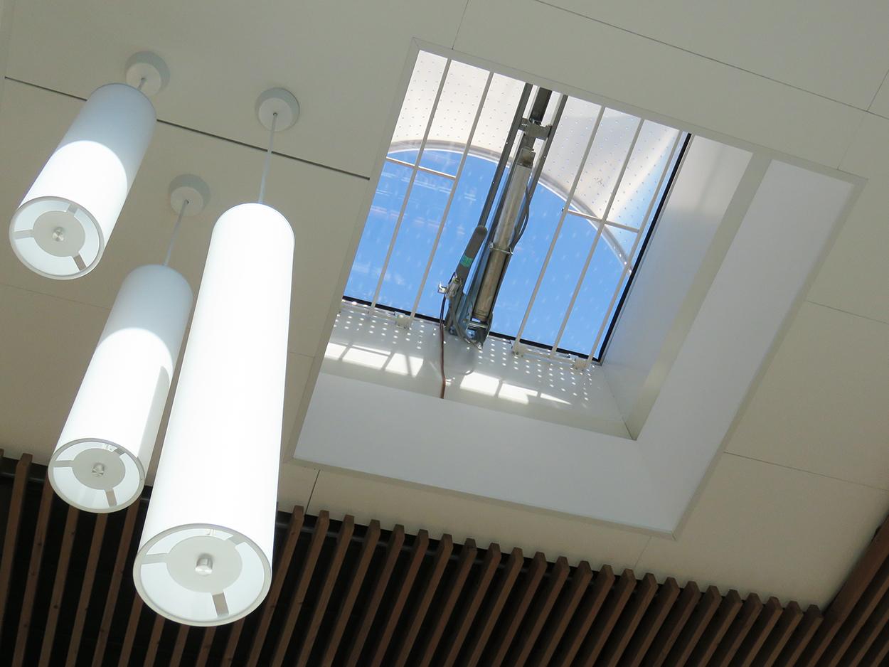 Péristyle Septeo lanterneaux verre Bluetek actualité Adexsi