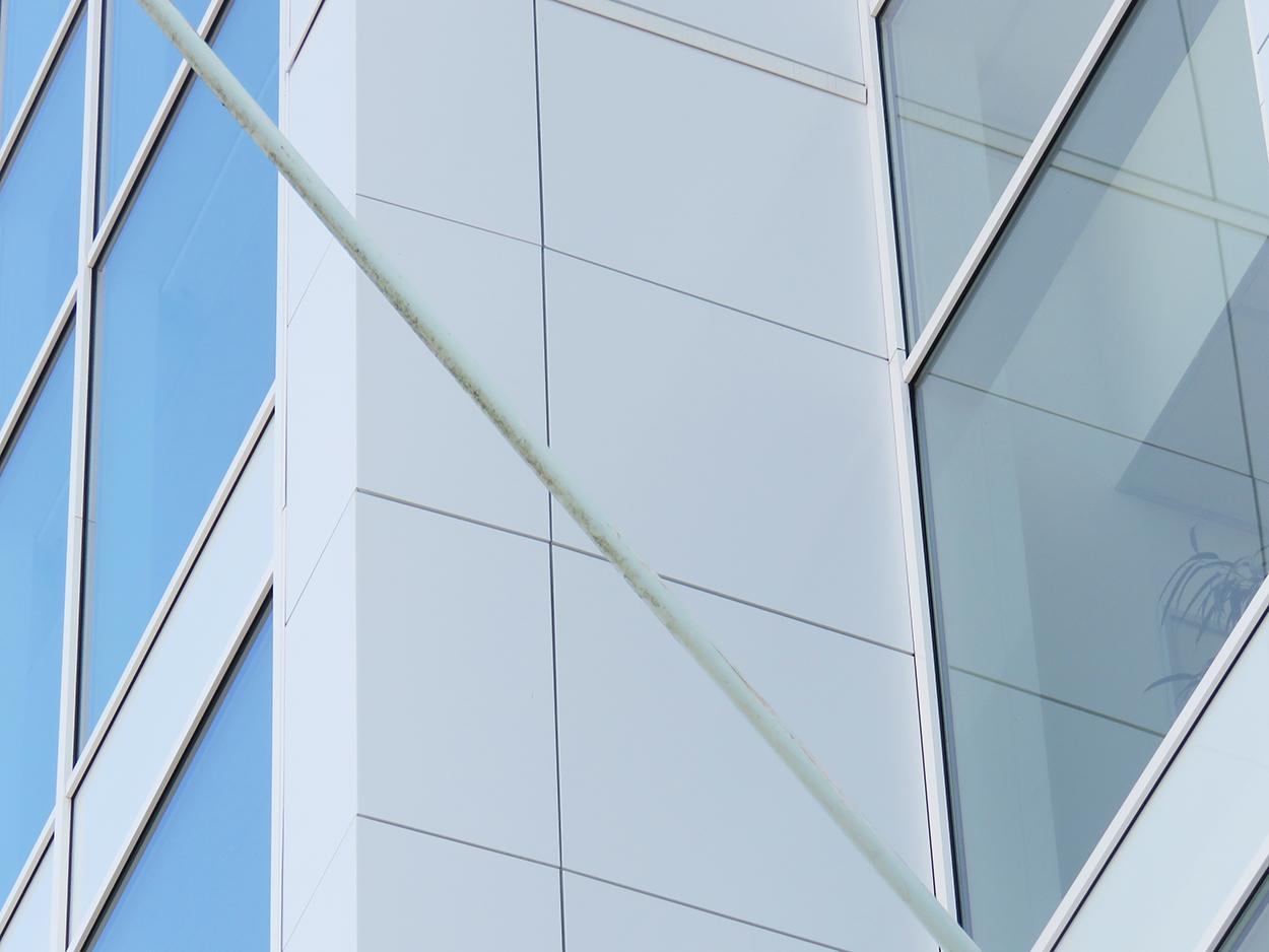 Rénovation façades tours smart France Hambach par Bluetek