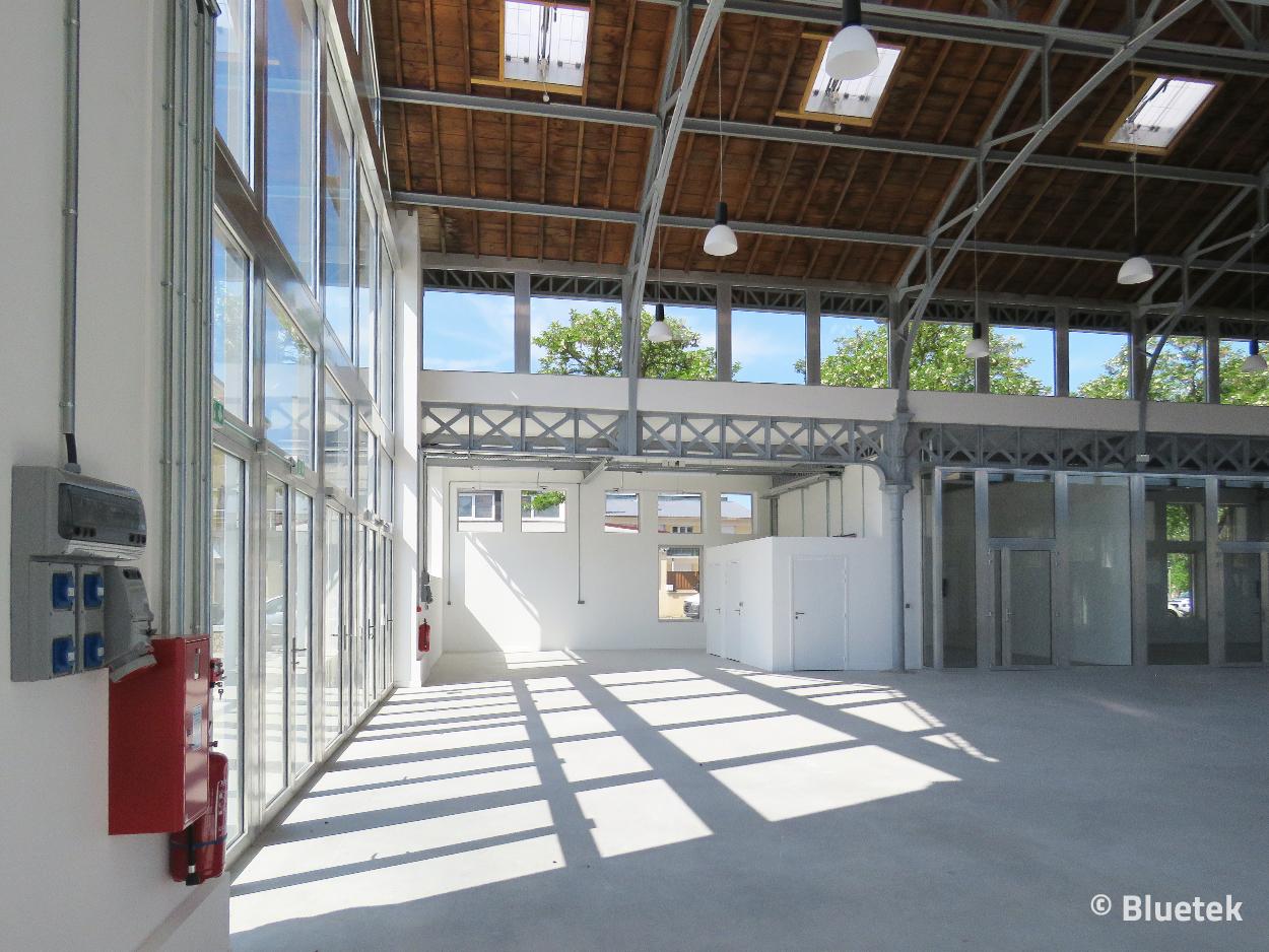 Vue intérieure Petite Halle Octroi juin 2021 reportage Bluetek