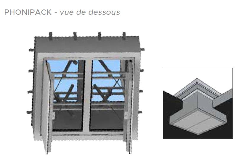 Plan appareil Souchier Boullet toiture La Scala Paris référence Adexsi Bluetek