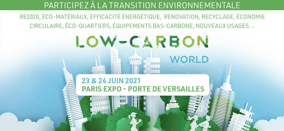 Participation Genatis Adexsi salon low-carbon World 2021
