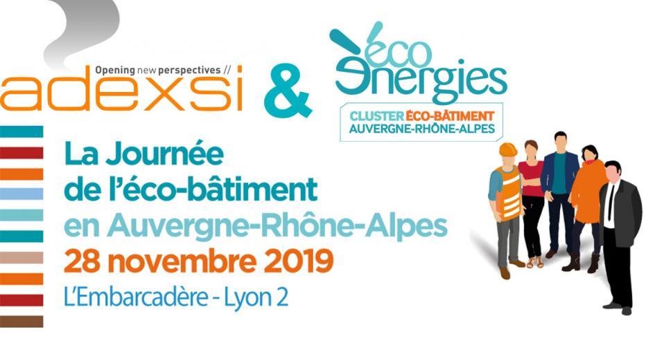 Adexsi et la journée de l'éco-bâtiment 2019 à Lyon