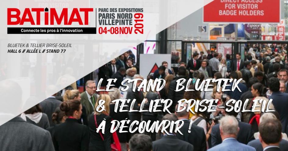 Adexsi Tellier et Bluetek : les produits à Batimat 2019