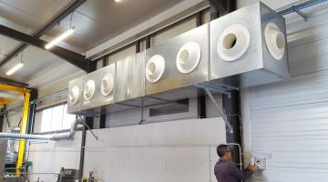 Wetbox installation adiabatique Busch Frontonas