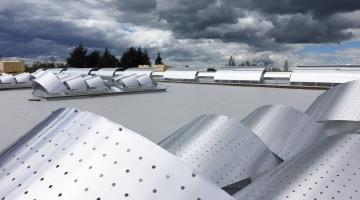 Rénovation voûtes toiture Cetih Roanne