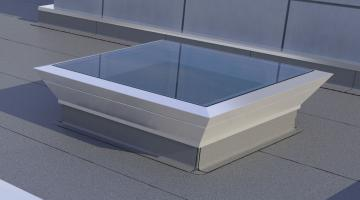 Karat : skylight dome, smoke and heat exhaust systems, natural lighting, flat glass skylight