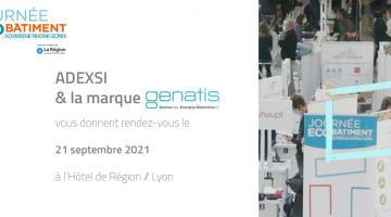 Journée de l'éco-bâtiment Lyon 2021 participation Adexsi