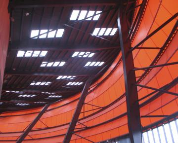 Adexsi référence produits de toiture marque Bluetek voûtes lanterneaux filants Zénith Strasbourg Alsace