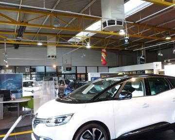 Concession automobile Renault Dauphiné référence Adexsi pour marque Cooléa produits Adiabox Bluetek