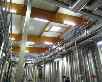 Référence Adexsi Champagne Cogevi lanterneaux isolation renforcée Promistyl