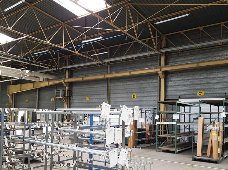 C2F : une rénovation qui associe désenfumage, lumière naturelle, ventilation, pilotage et monitoring