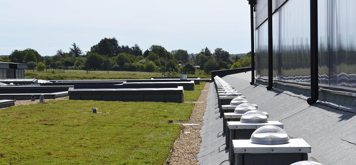 Référence conduits de lumière Lightube sur l'Eco Cfa de Chasseneuil sur Bonnieure