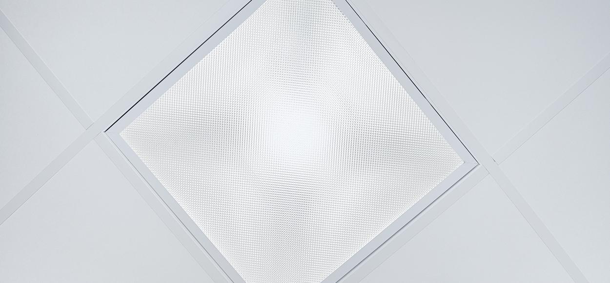 Référence Adexsi produit Bluetek Lightube réalisation conduits de lumière pour couloir entreprise Lautier à Moussac