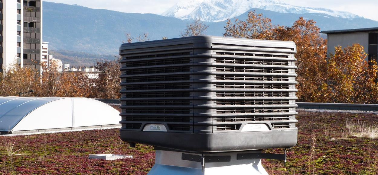 Référence site internet Adexsi adiabatique bio-climatisation rafraîchissement d'air par évaporation