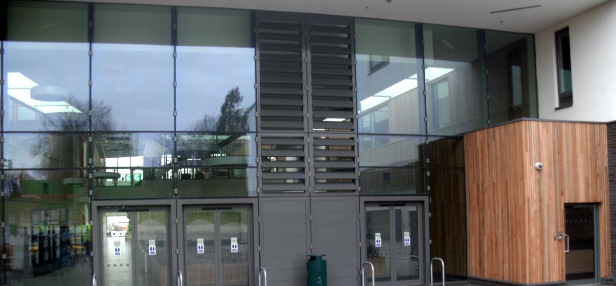 vue des appareils Luxlame - groupe scolaire Stanley Park High School