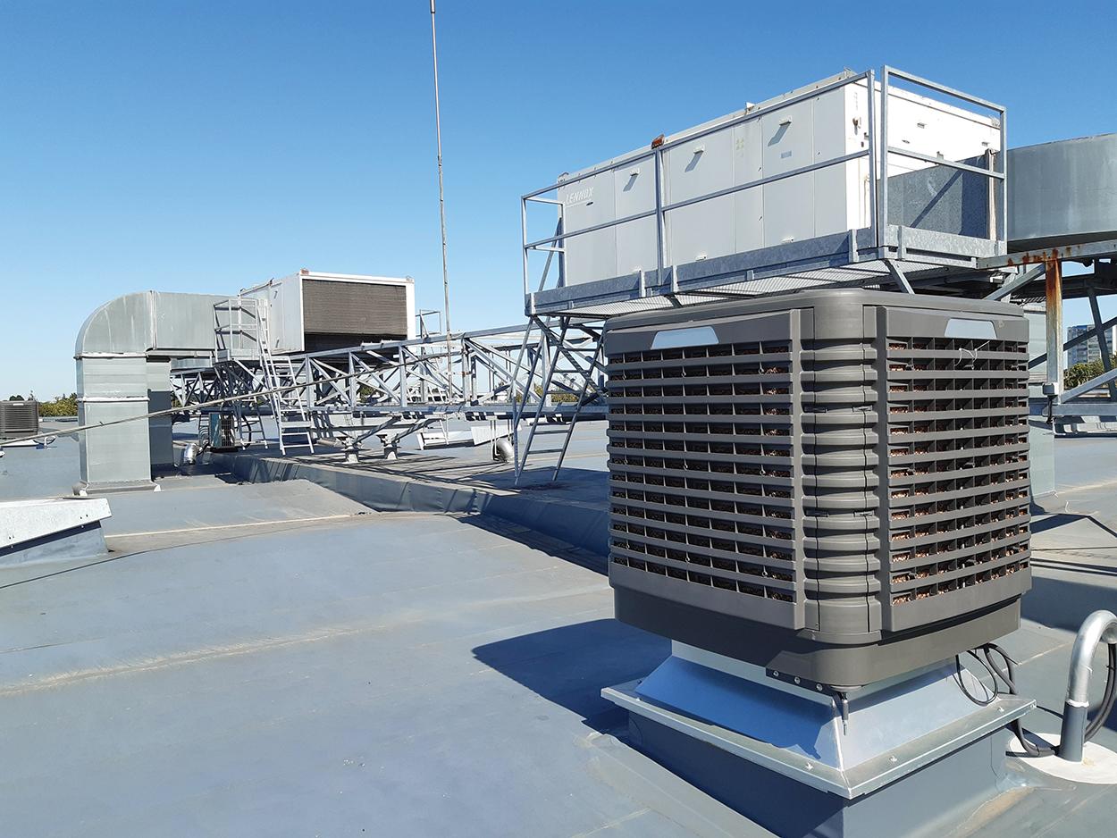 Wetbox WFP 30 000 D en toiture