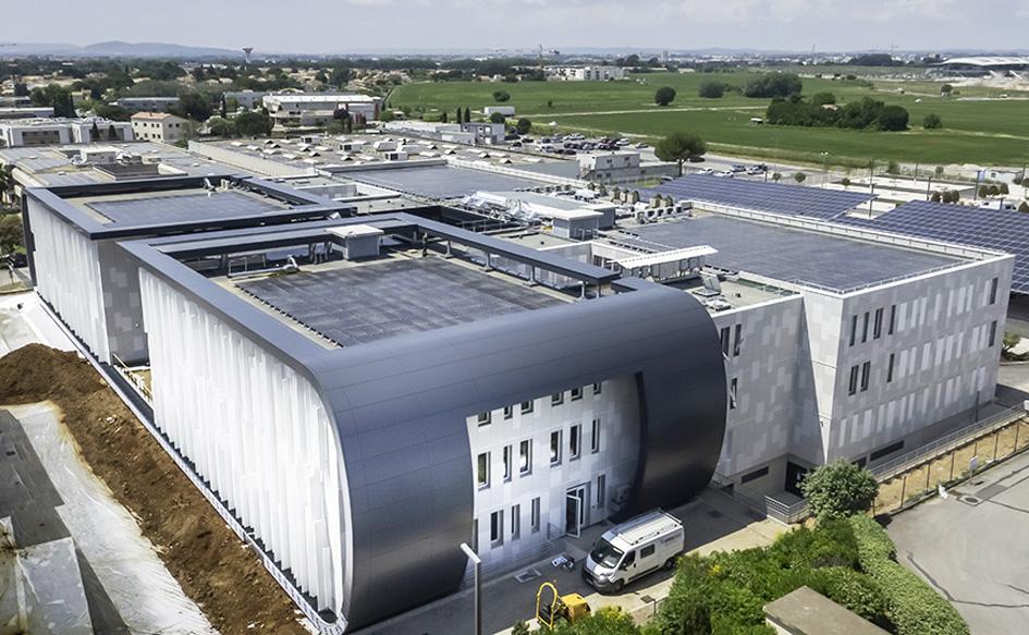 Bâtiment bureaux Septeo Lattes actualité Adexsi Soprema